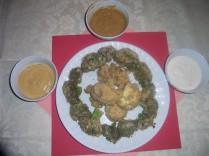 Crumb Coat Broccoli and Cauliflower